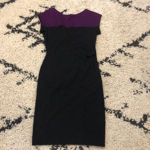 Escada Black/ Purple Dress